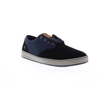 Emerica The Romero Laced Mens Black Suede Skate Inspired Sneakers Shoes