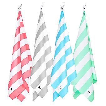 Dock & bay snel droge handdoeken - cabana - set van 4 (licht)