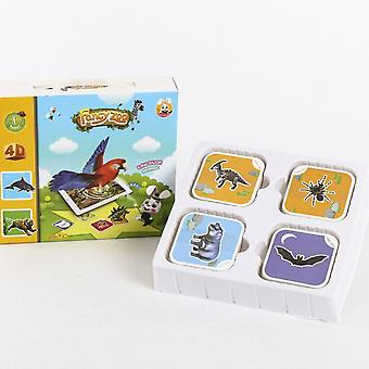Animal Encyclopedia Cognitive Card-early Childhood Educational Toy