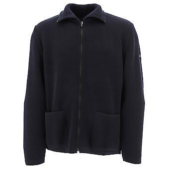Saint James 7535cc Men's Blue Wool Sweater