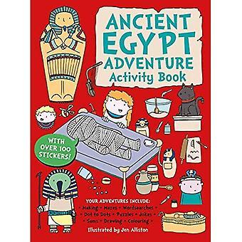 Ancient Egypt Adventure Activity Book (Adventure Activity Book)