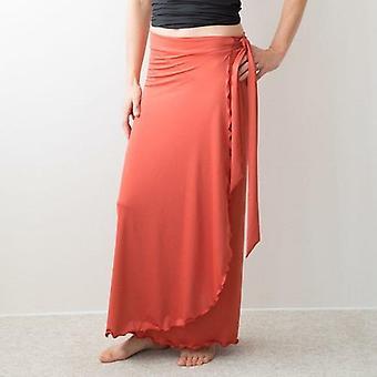 Everywear Long Wrap Skirt