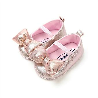 Newborn Baby Bowknot Wedding Princess Party Shoes