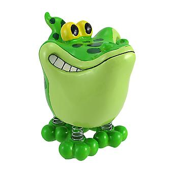 Wacky Gator Coin Bank with Spring Legs