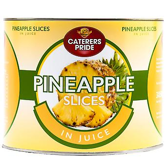 Caterers Pride Pineapple Slices in Juice