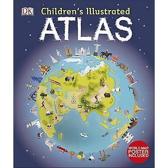 Atlante illustrato per bambini Dk Childrens Atlas