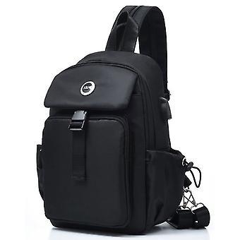 One-shoulder diagonal bag sports leisure bag
