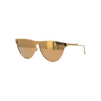 Bottega Veneta BV1070S 003 Gold/Gold Mirror Sunglasses