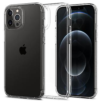 Fall För iPhone 12 / IPhone 12 Pro (6,1) I polykarbonat och silikon Transparent, Ultra Hybrid