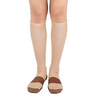 Copper Compression Socks, Women & Men Anti Fatigue Pain Relief Knee High