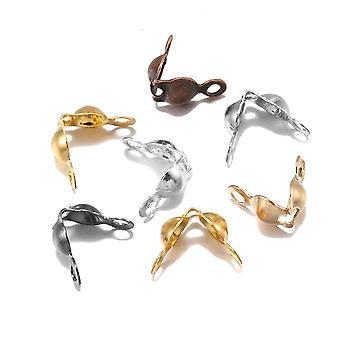 200pcs Ball Chain Calotte End Crimps - Composants connecteur perles