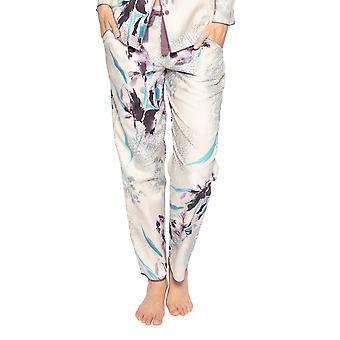 Cyberjammies Gabriella 4742 Kvinnor's Beige Animal Print Bomull Pyjama Byxa