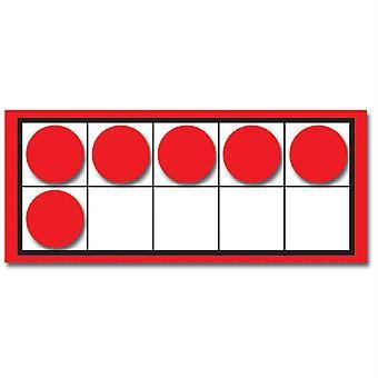 Zehn Rahmen und Konter bunte Ausschnitte, Klassen K-2