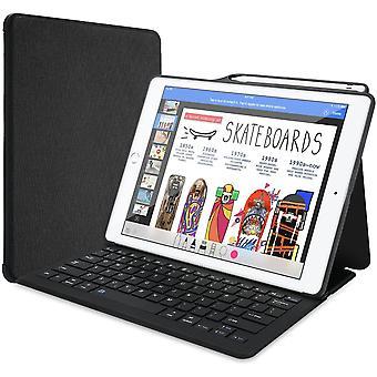 "ProCase iPad Pro 12.9"" 2017/2015 Keyboard Case, Built-in Apple Pencil Holder,Lightweight Folio Stand"