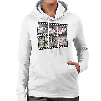 Supercar Film Roll Women's Hooded Sweatshirt