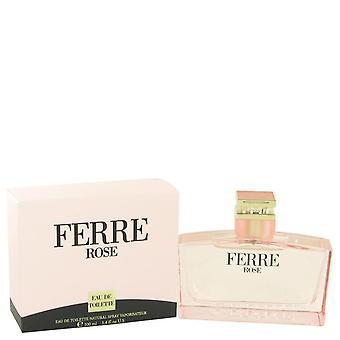 Ferre Rose Eau De Toilette Spray By Gianfranco Ferre 3.4 oz Eau De Toilette Spray