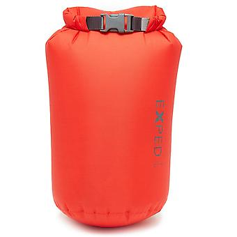 New EXPED Fold Drybag 8L Red