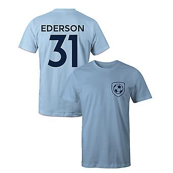 Ederson 31 Club Style Player Football T-Shirt