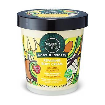 Body Dessert - Banana Milkshake Repairing Body Cream 450 ml of cream