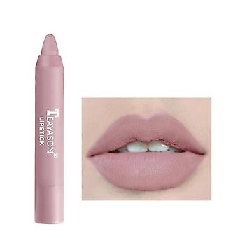 Matte Lipstick, Pigmented Moist Lip Tint Easy To Wear Cosmetics