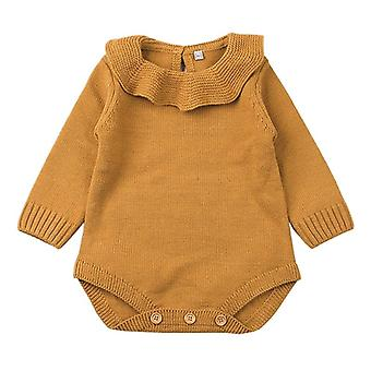 Newborn Baby Sweater Bodysuits Knit Winter Warm Jumpsuits