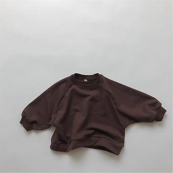 Camisa de sudadera pullover para niños vendida más camiseta talla
