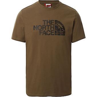 North Face Woodcut Dome T0A3G137U universella män t-shirt