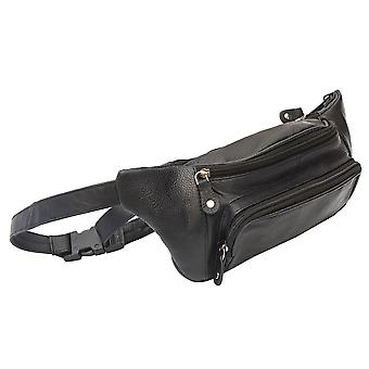 Primehide Ranger Upcycled Läder Bumbag - Midja Resesäkerhet Väska - 1452
