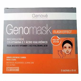 Genove Masque Facial Genomask 6 Enveloppes