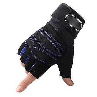 Vægtløftning Træningshandsker, Kvinder, Mænd, Grips Gym Hand Palm Protector