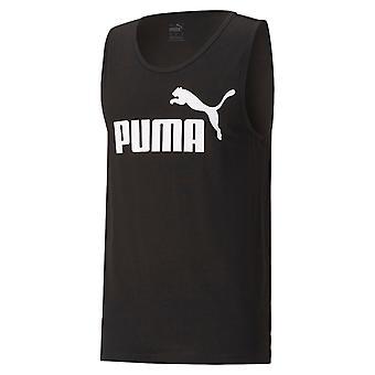Puma mens esencial camiseta sin mangas logo crew cuello camiseta camiseta