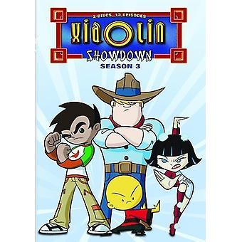 Xiaolin Showdown: Importer des USA complète de troisième saison [DVD]