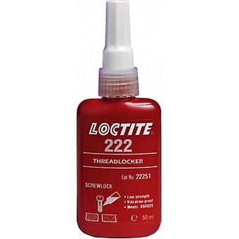 Loctite 222 Low Strength Threadlocker All Metal Adhesive Glue 50Ml 195743