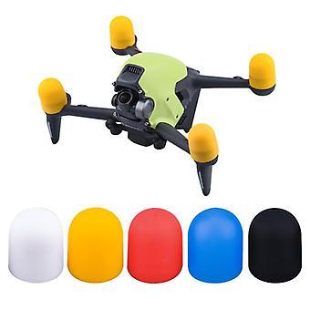 Motor kapağı koruyucu kapak yumuşak silikon taşıma koruması fpv drone aksesuarları için toz önleyici darbeye dayanıklı koruyucu