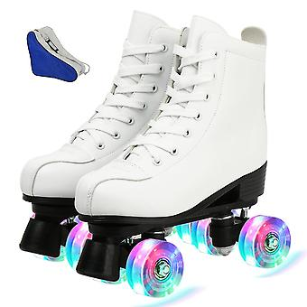 Women 4 Choice Pu Microfiber Roller Skates, Skating Shoes