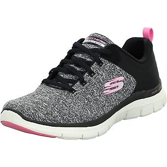 Skechers Flex Appeal 149307BLACK sapatos femininos
