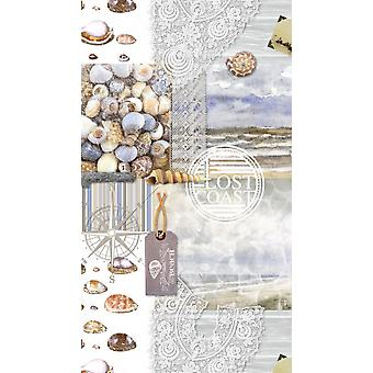 strandlaken Abel 100 x 180 cm fluweel