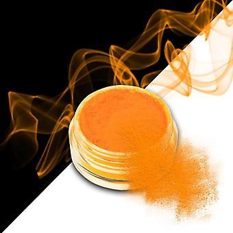 Effekt pulver - Smoke - Neon - Ljus orange - 04