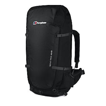 بيرغهاوس الدافع السفر 60 +20 المشي في الهواء الطلق المشي على ظهره حقيبة الظهر الأسود