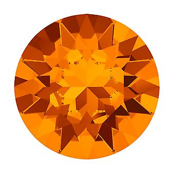 Swarovski Kristall, #1088 Xirius Rundstein Chatons ss29, 12 Stück, Mandarine F