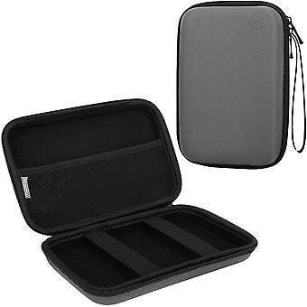 FengChun 7-Zoll GPS Tragetasche, tragbare Hard Shell Schutztasche Aufbewahrungstasche für Auto GPS