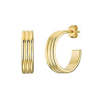 NOELANI Women's hoop earrings, in gold-plated sterling silver 925(3)