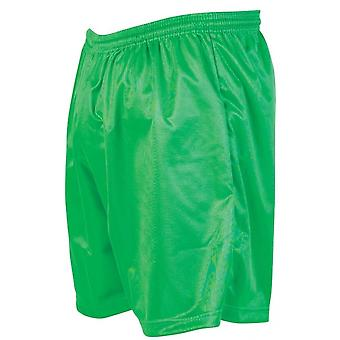 Präzision Micro-Streifen Fußball Shorts 30-32 Zoll grün