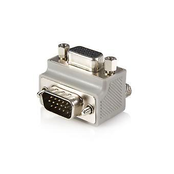 Höger vinkel VGA till VGA-kabeladapter Typ 1 - M/F
