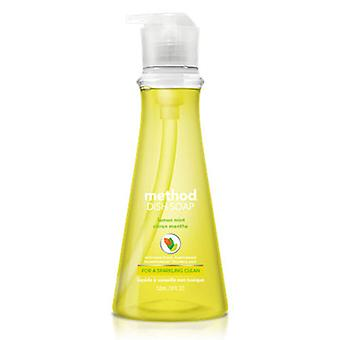 طريقة المنتجات الليمون النعناع طبق الصابون مضخة، 18 أوقية