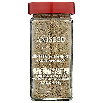 Morton & Bassett Aniseed, Case of 3 X 2.3 Oz