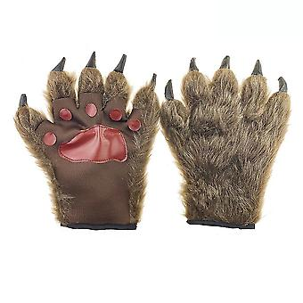 Medveď pazúr Cosplay rukavice Halloween Funny Cosplay pre deti