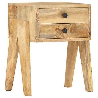 vidaXL Bedside Table 40 x 35 x 50 cm Mango Solid Wood