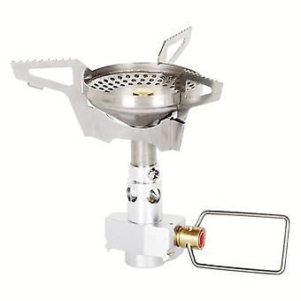 Outdoor gas burner anti-scald gas stoves mini camping foldable cooking stove travel picnic survival bbq gas furnace combustor