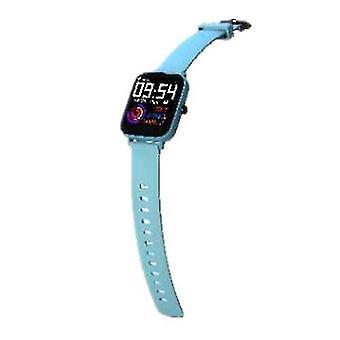 الساعات البسيطة gt168 ساعة ذكية متعددة الوظائف رصد معدل ضربات القلب ip67 تعقب الرياضة للماء (الأزرق)